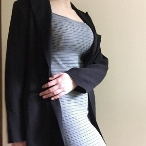 Thrifted long dress blazer